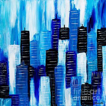 Blue City by Art by Danielle