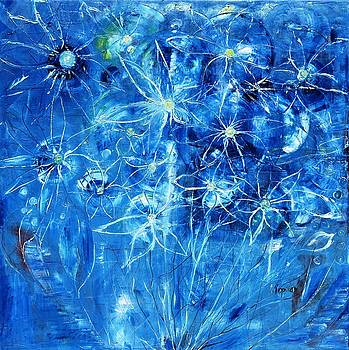 Blue Design by Evelina Popilian