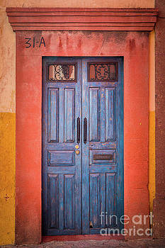 Blue Door by Inge Johnsson