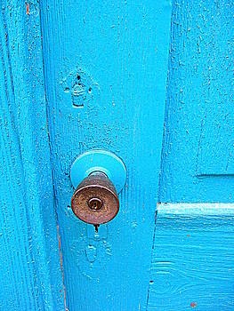 Blue Door by Rollin Jewett