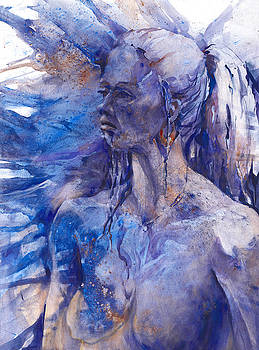 Blue Lady by Joan  Jones