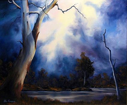 Blue Mood by John Cocoris