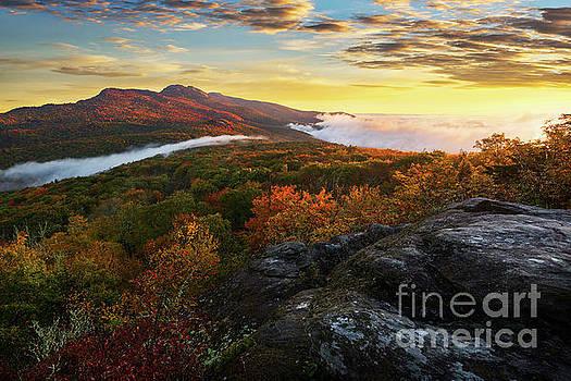 Blue Ridge Morning by Anthony Heflin