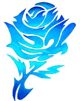 Blue Rose by Sarah Krafft