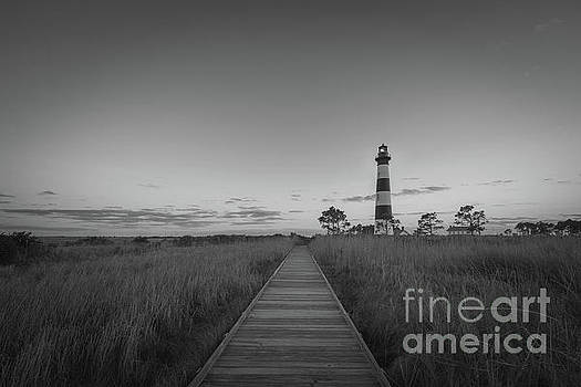 Boardwalk To Bodie Island Light by Michael Ver Sprill