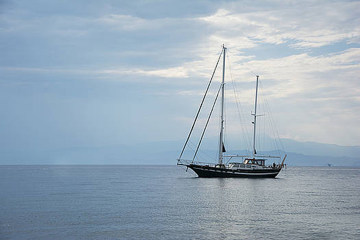 Newnow Photography By Vera Cepic - Boat in the sea