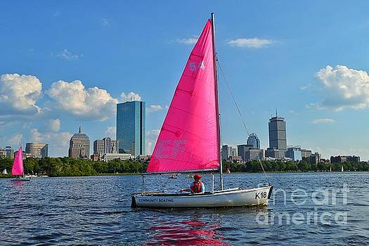 Boat on the Charles  by SoxyGal Photography