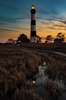 Bodie Island Sunset by Nick Noble