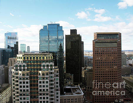 Boston Financial District by Ruth H Curtis