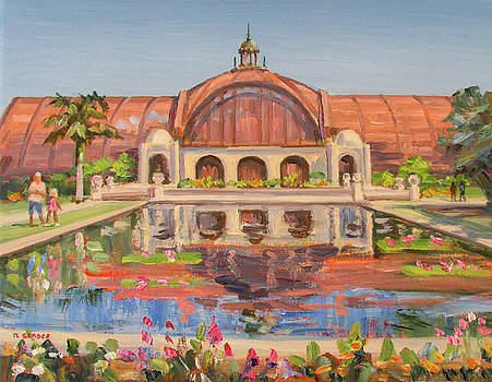 Botanical Building Balboa Park by Robert Gerdes