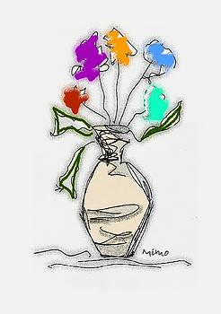 Bouquet by Mimo Krouzian