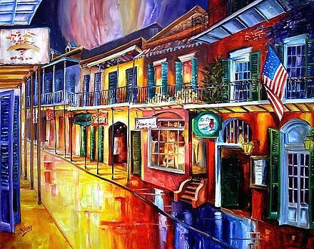 Bourbon Street Red by Diane Millsap