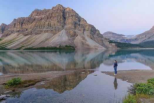 Bow Lake by Christian Heeb
