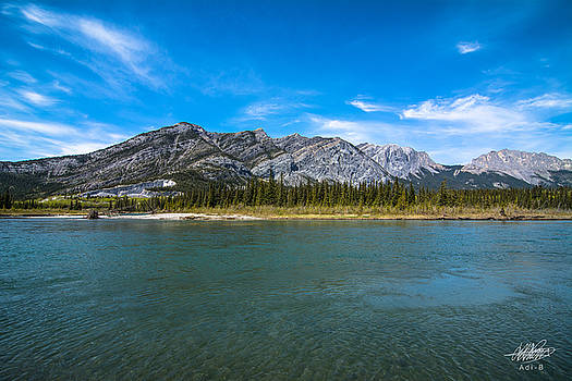 Bow Valley Campground by Adnan Bhatti