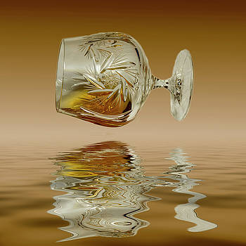 David French - Brandy Decanter Glass