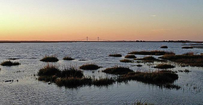 Andrew Wilson - Bridge at Sunset