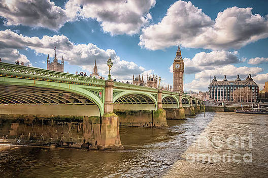 Mariusz Talarek - Bridge over River Thames