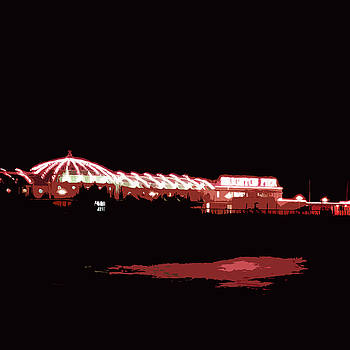 James Hill - Brighton Pier at Night