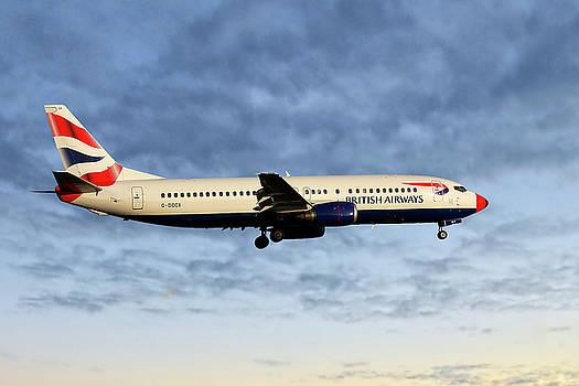 British Airways Boeing 737-436 by Nichola Denny