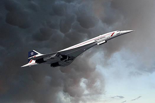 British Airways Concorde by Nichola Denny