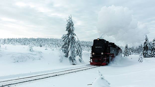 Brockenbahn, Harz by Andreas Levi