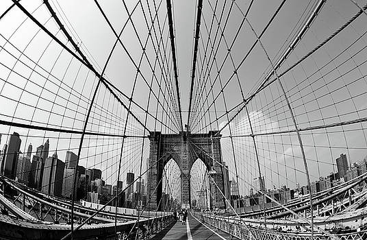 Brooklyn Bridge by Peter Verdnik