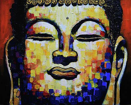 Buddha Head by Stephen Humphries