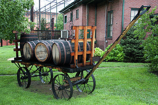 Buffalo Trace Barrel Wagon by John Daly