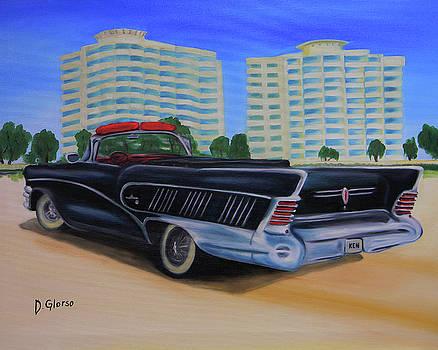 Buick On The Beach by Dean Glorso