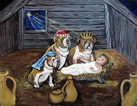 Bulldog Christmas by Pam Utton