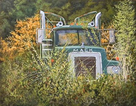 Bulldog in the Bushes by Paul K Hill