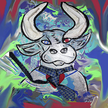 Bullish - A Bull with a heaRT - Untie me by Artista Elisabet