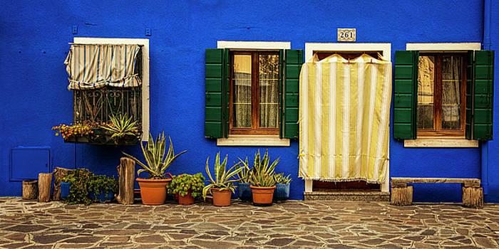Burano Blue by Andrew Soundarajan