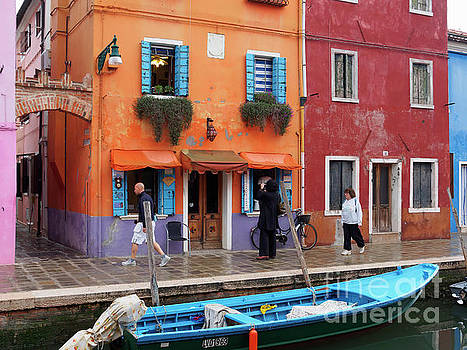 Burano Italy by Louise Heusinkveld