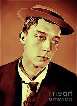 Buster Keaton, Vintage Actor by John Springfield