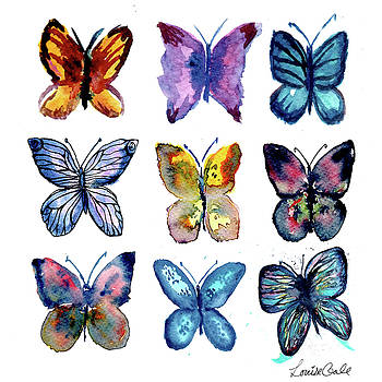 Butterfly Friends by Louise Gale
