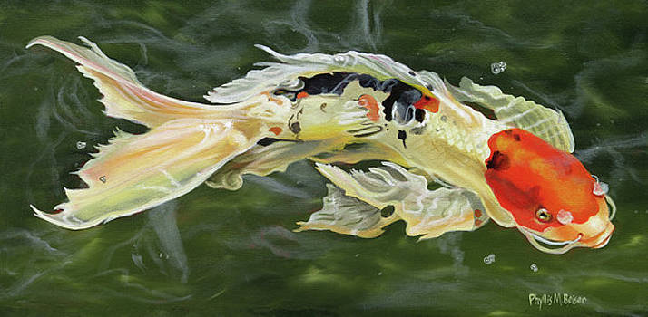 Butterfly Koi by Phyllis Beiser