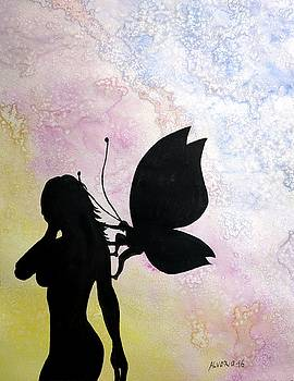 Butterfly Silhouette by Edwin Alverio