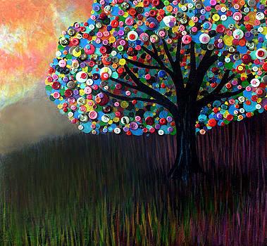 Button tree 0004 by Monica Furlow