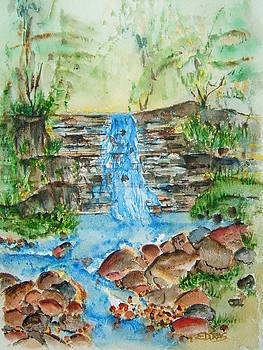 By A Waterfall by Elaine Duras