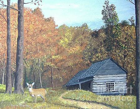 Cabin in the Woods by Norm Starks