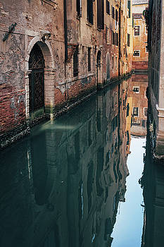 Canal in Venice, Italy by Ivan Bastien