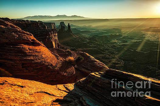 Canyon Sunbeams by Kristal Kraft