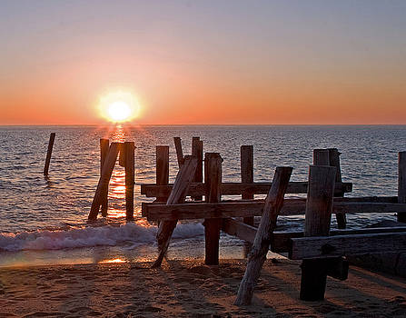 Cape May Sunset by Robert Pilkington
