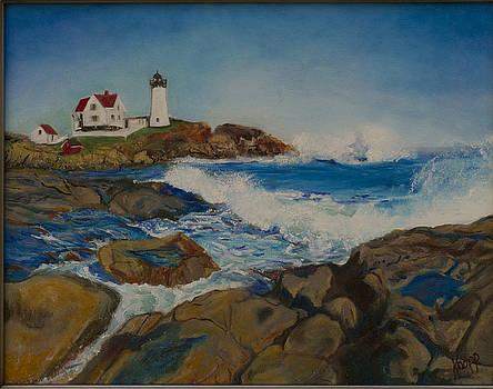 Cape Neddick by Kathy Knopp