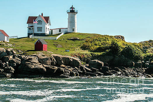 Cape Neddick Lighthouse by Mim White