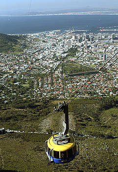 Capetown Cablecar by Charles  Ridgway