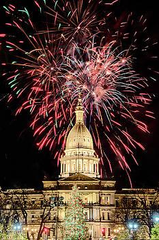 Capital Fireworks  by Gej Jones