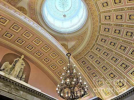 Capitol Dome by Linda Dautorio