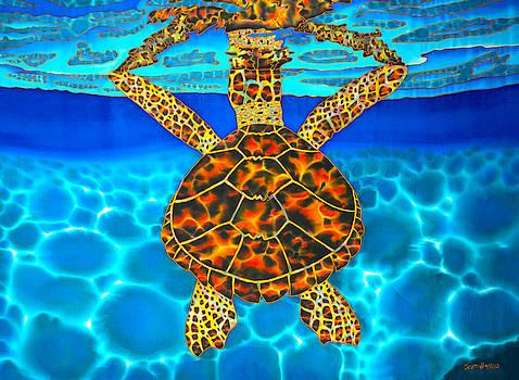 Caribbean Hawksbill Sea Turtle by Daniel Jean-Baptiste